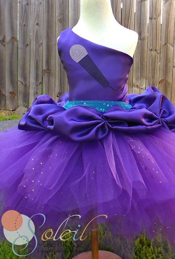 Barbie Inspired Keira Pop Star Tutu Dress by SCbydesign on Etsy ...