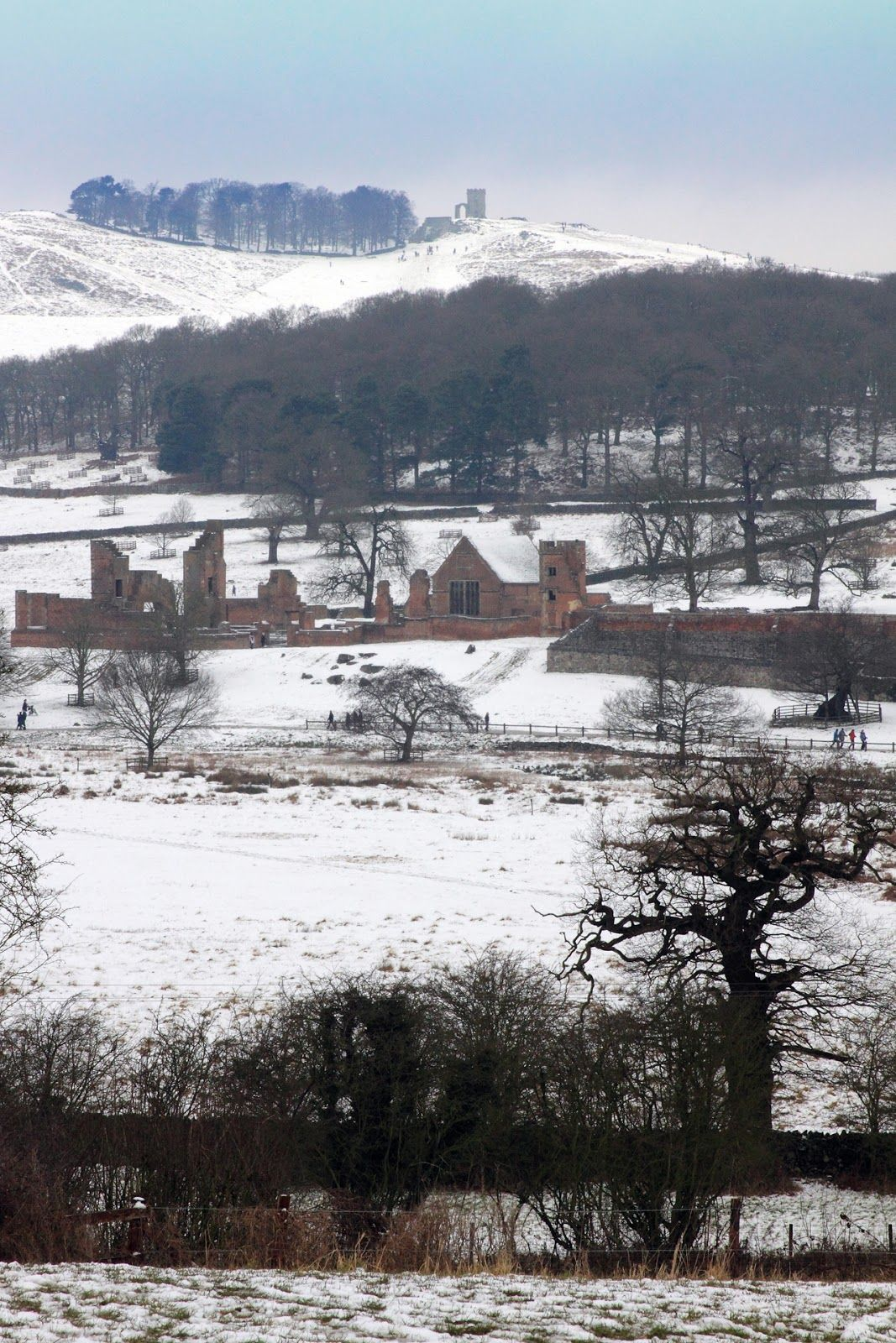 Bradgate House, Leicestershire, the birthplace and ancestral home of Lady Jane Grey