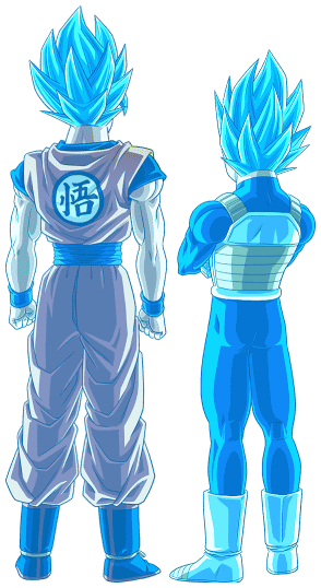 Goku Vegeta Ssgss Render Bucchigiri Match By Maxiuchiha22 Dragon Ball Goku Dragon Ball Super Manga Anime Dragon Ball Super