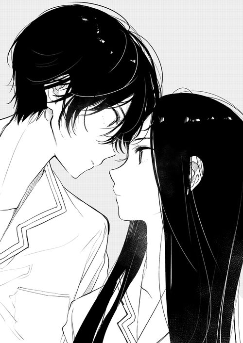 Image by wendy anime couple anime couples drawings - Image manga couple ...