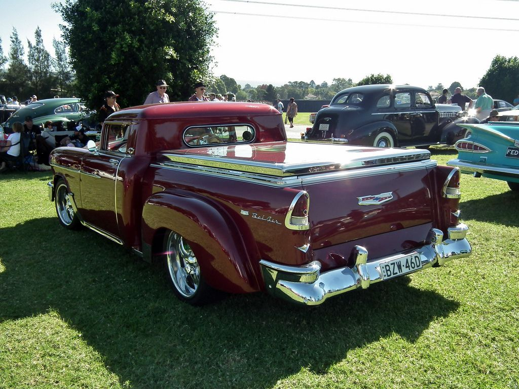 1955 Chevrolet Pickup Ute This Has Been Done For A Number Of