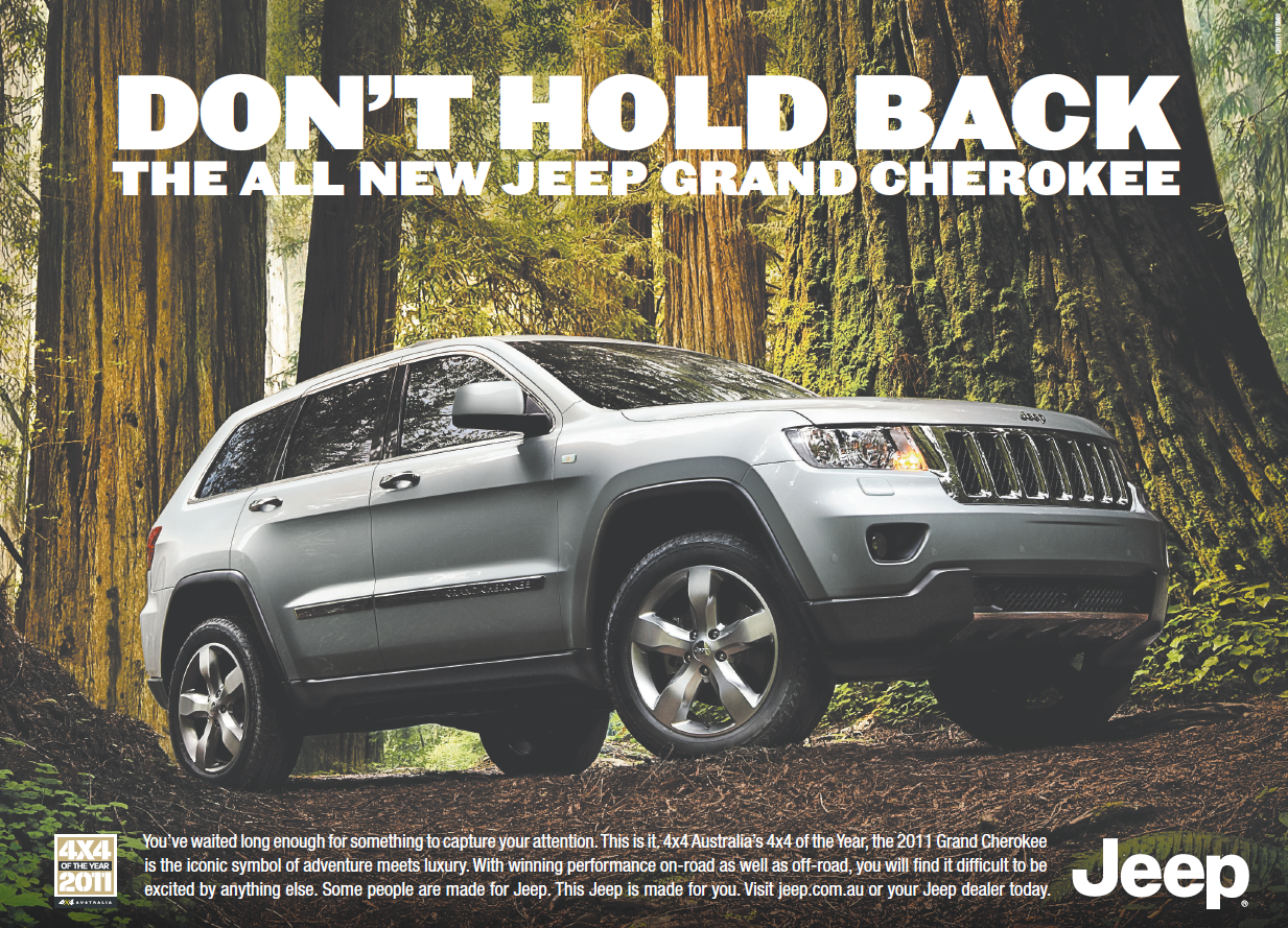 Dont hold back jeep