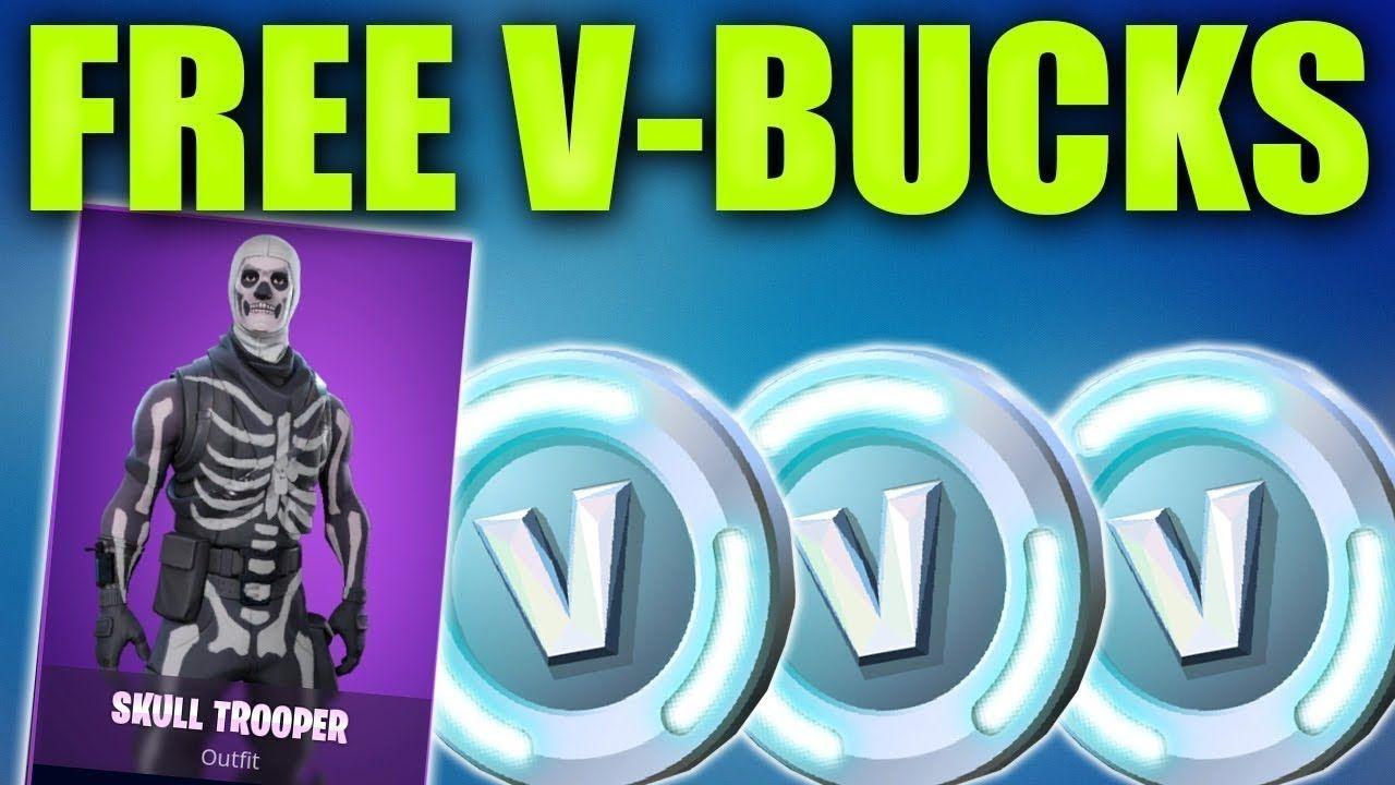 How To Get Fortnite Free V Bucks 2019 - V Bucks Generator FREE No