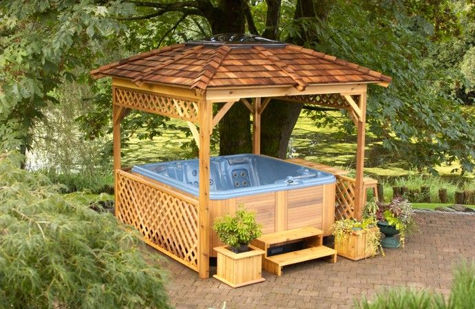 Slikovni rezultat za Hot Tub Gazebo