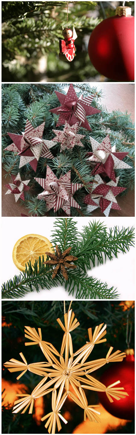 Weihnachtsbaum Engelshaar.Weihnachtsschmuck Basteln Weihnachten Christbaumkugeln Lametta
