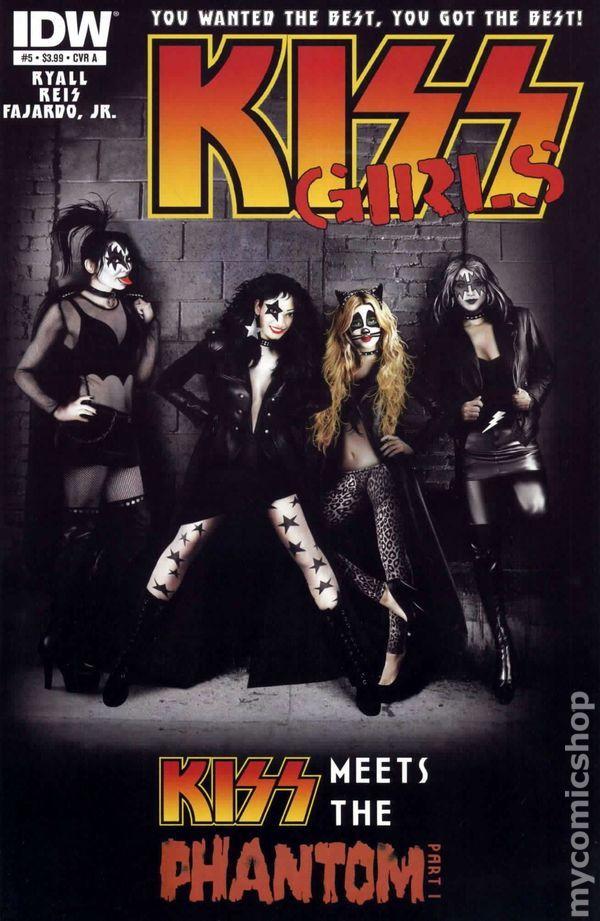 Kiss (2012 IDW) 5A