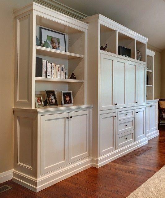 Entertainment Center Bookshelves Living Room Built Ins Living Room Cabinets Cabinetry Design #side #cabinets #for #living #room
