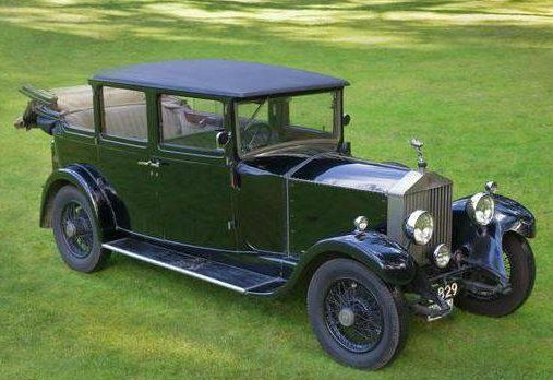 Chassis GSR59 (1930) Enclosed Limousine Landaulette by John Croall & Sons