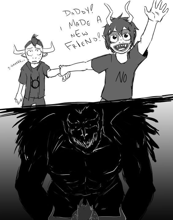 big brother, dad, and gamzee's best friend Tavros