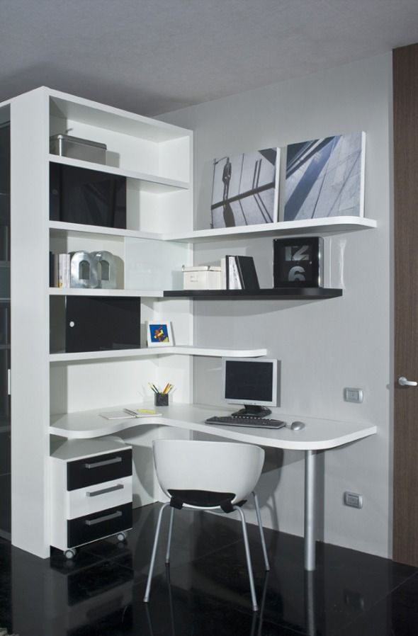 Black And White Bedroom Ideas For Teens And Cozy Study Area Of Black And White Themed Teen
