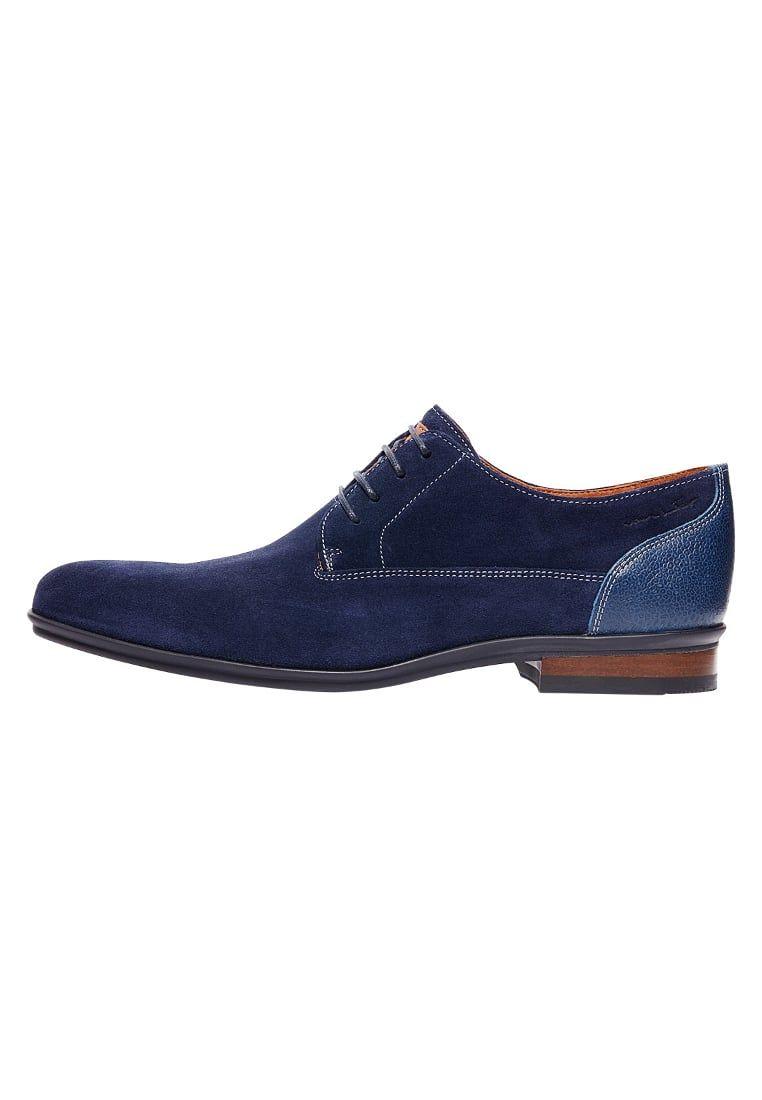 28ed99ccc5f Nette schoenen Van Lier Veterschoenen - blau Blauw: € 139,90 Bij Zalando  (op 9-5-16). Gratis bezorging & retournering, snelle levering en veilig  betalen!