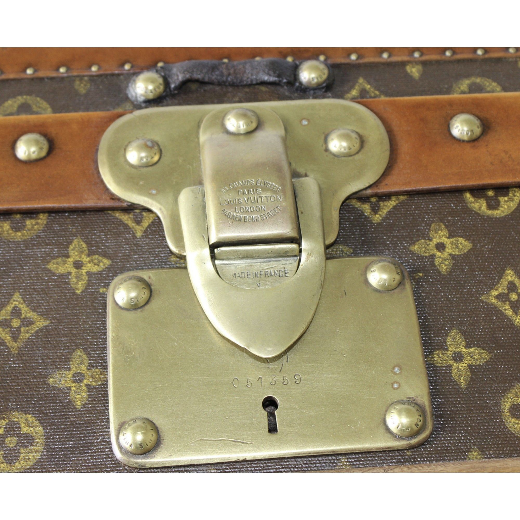 Louis Vuitton Shoe Trunk with AW initials - Louis Vuitton - Brands ...