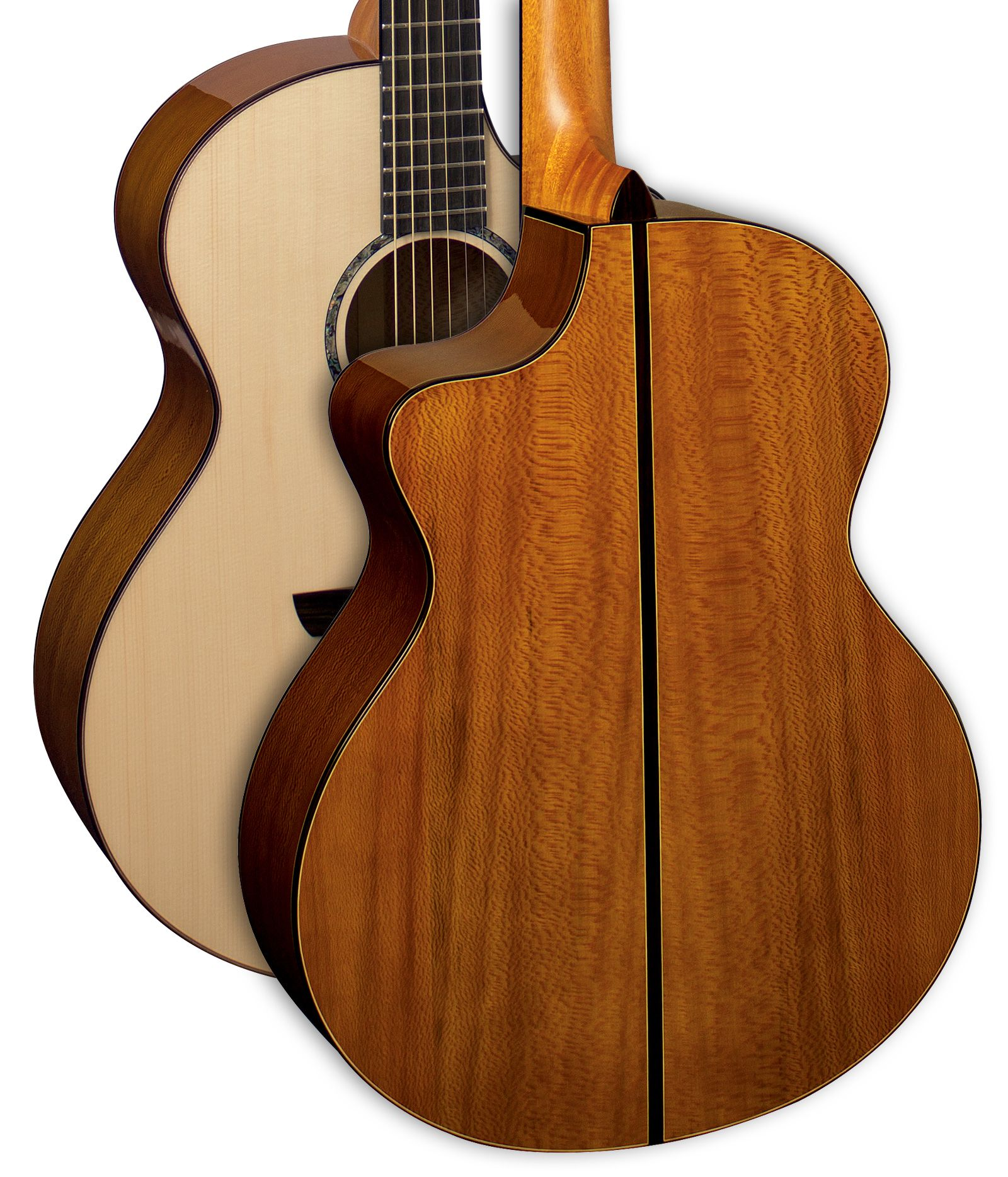 Faith Acoustic Guitar Signature Series London Plane Tree From The Uk Catalogue Image Neptune Body Shape Designed By Patr Acoustic Guitar Cool Guitar Guitar