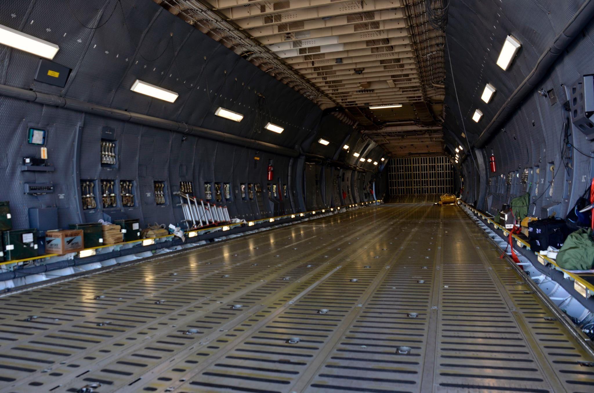 C-5 Galaxy interior. | Aviation | Pinterest | Planes ...
