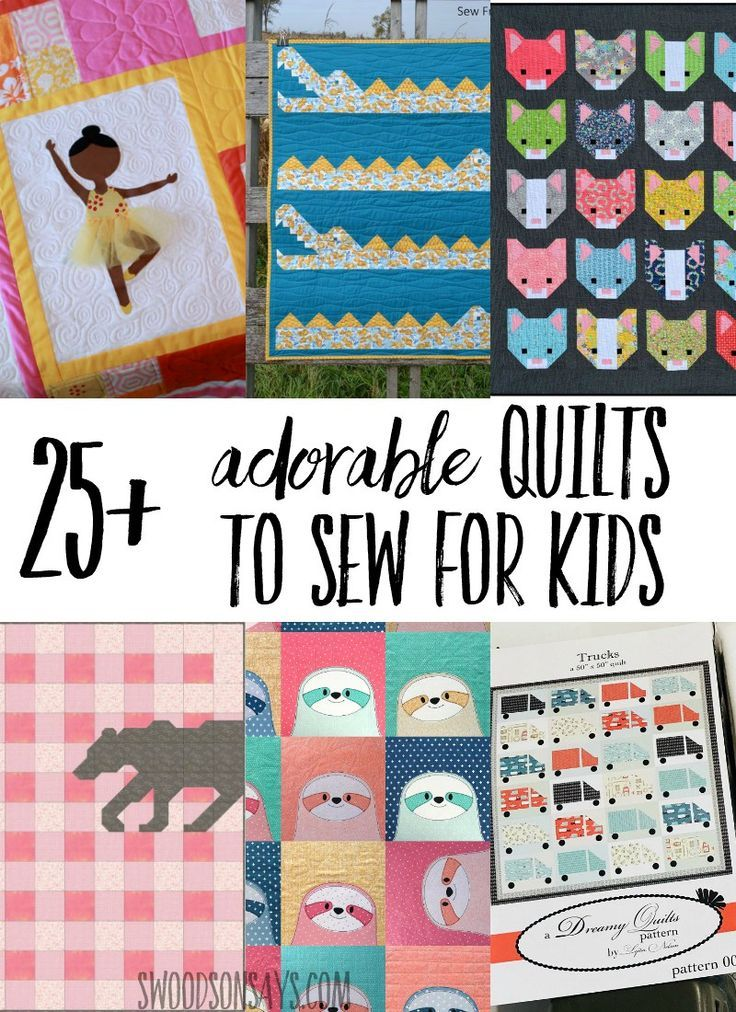 25+ quilts to sew for kids | Kid Blogger Network Activities & Crafts ...
