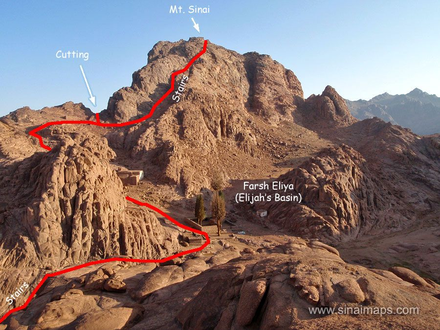 Where Is Mount Sinai >> Pin On The Exodus Flight From Egypt