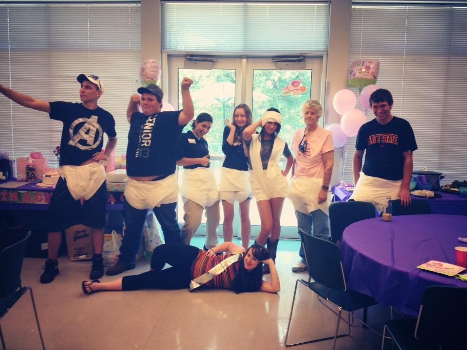 Toilet Paper Diaper Game Baby Shower Game We Had A Runway Show For