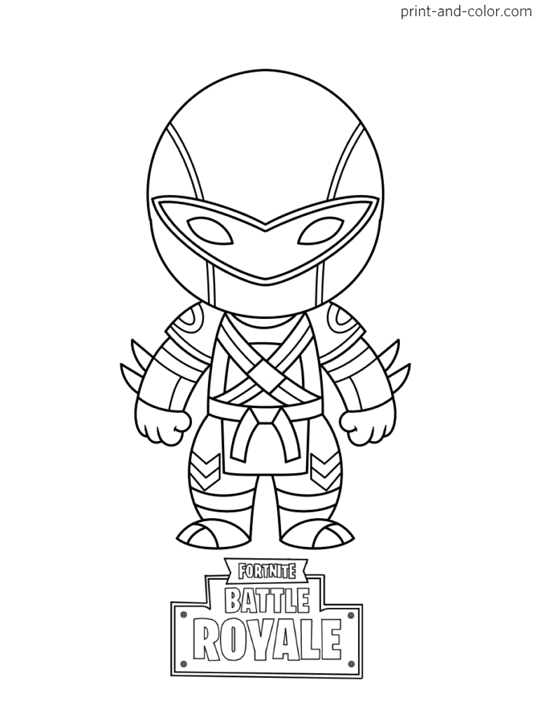 Fortnite Coloring Pages Print And Color Com Cartoon Coloring Pages Coloring Pages Free Coloring Pages