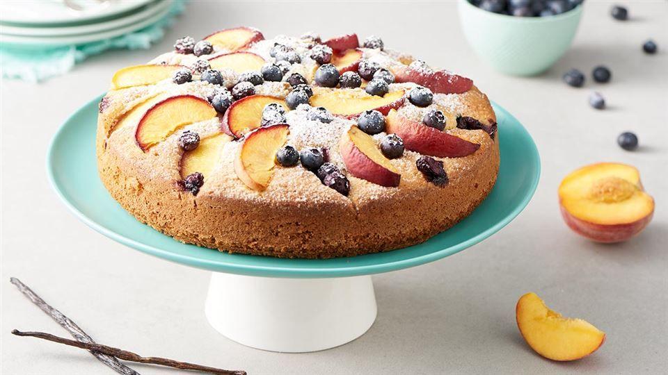 Ciasto Borowkowo Brzoskwiniowe Przepis Recipe Food Desserts Eat