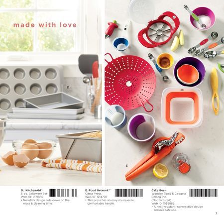 Bakeware And Gadgets In Kohl S Wedding Gift Registry 2015 Catalog Wedding Gift Registry Wedding Registry Gift Registry