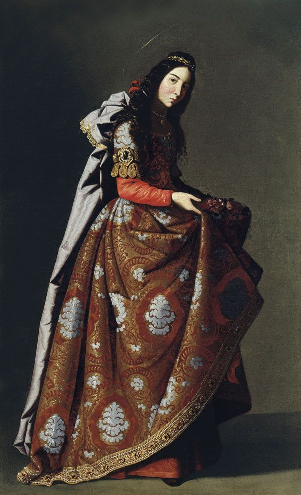 Santa Casilda. Francisco de Zurbarán, ca. 1635, Madrid, Museo Thyssen-Bornemisza