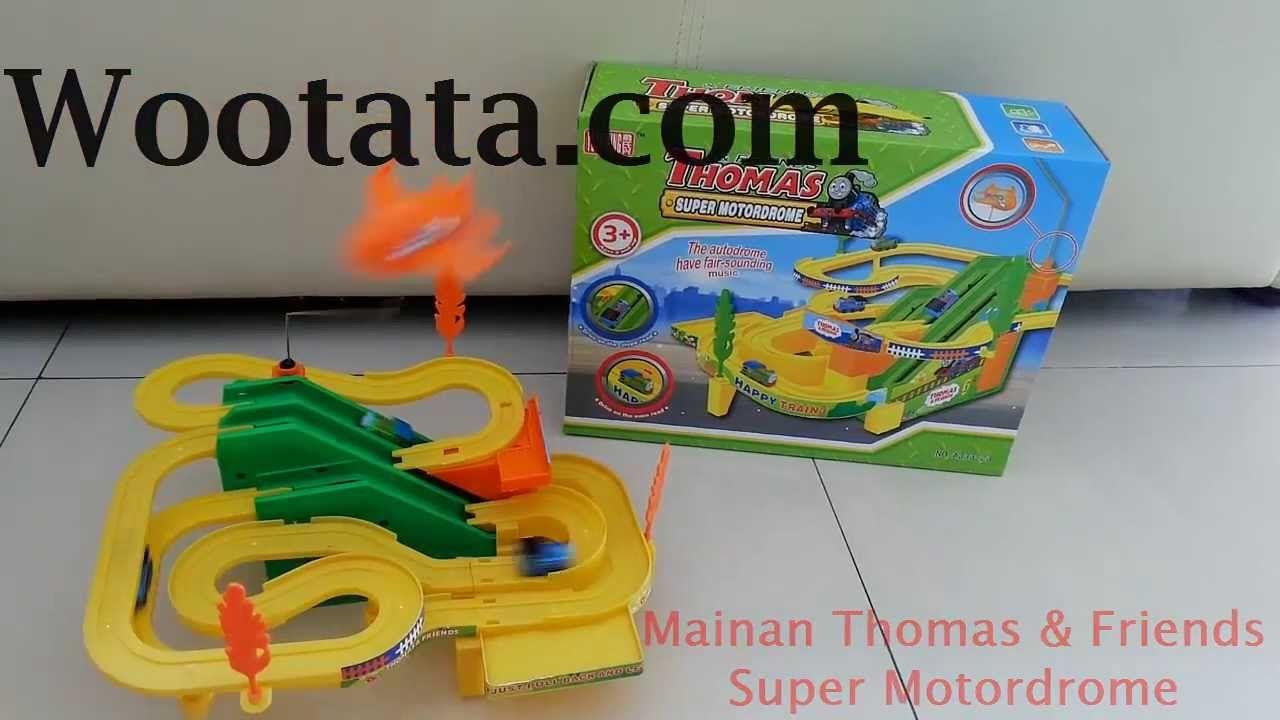 Jual Mainan Track Thomas And Friends Super Motordrome Thomas And Friends Toys For Boys Toys