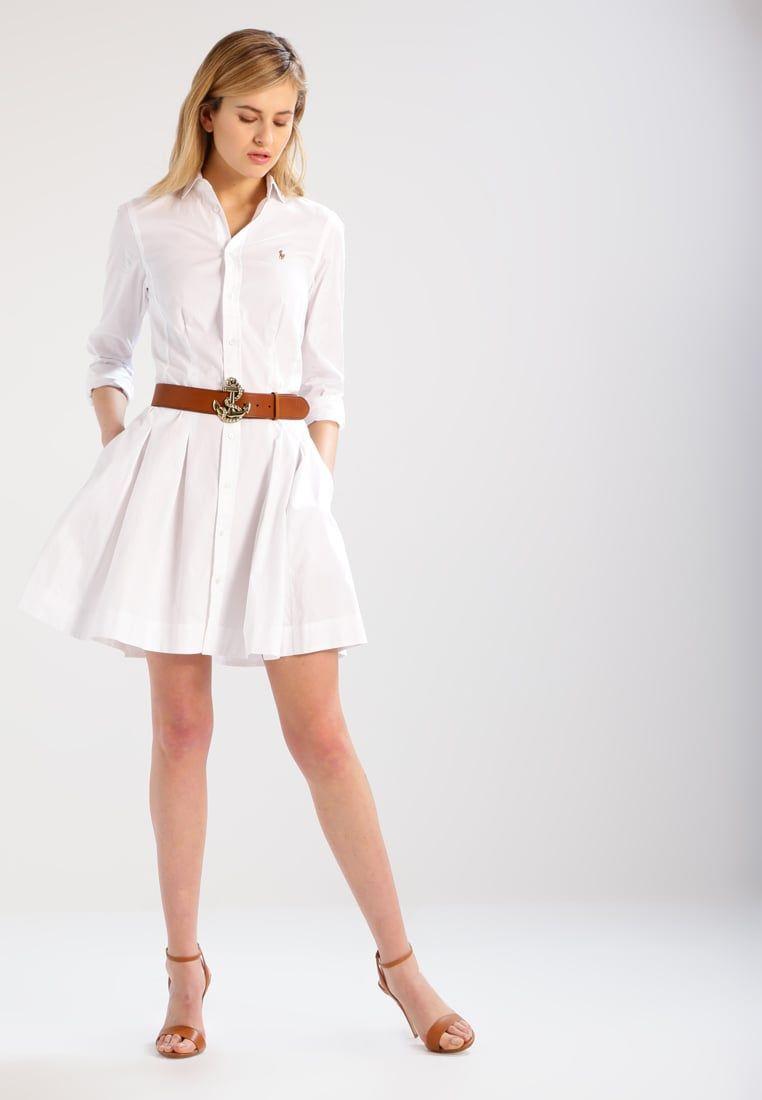 ¡Consigue este tipo de vestido camisero de Polo Ralph Lauren ahora! Haz  clic para ver los detalles. Envíos gratis a toda España. Polo Ralph Lauren  Vestido ... 631e71fb44a8b