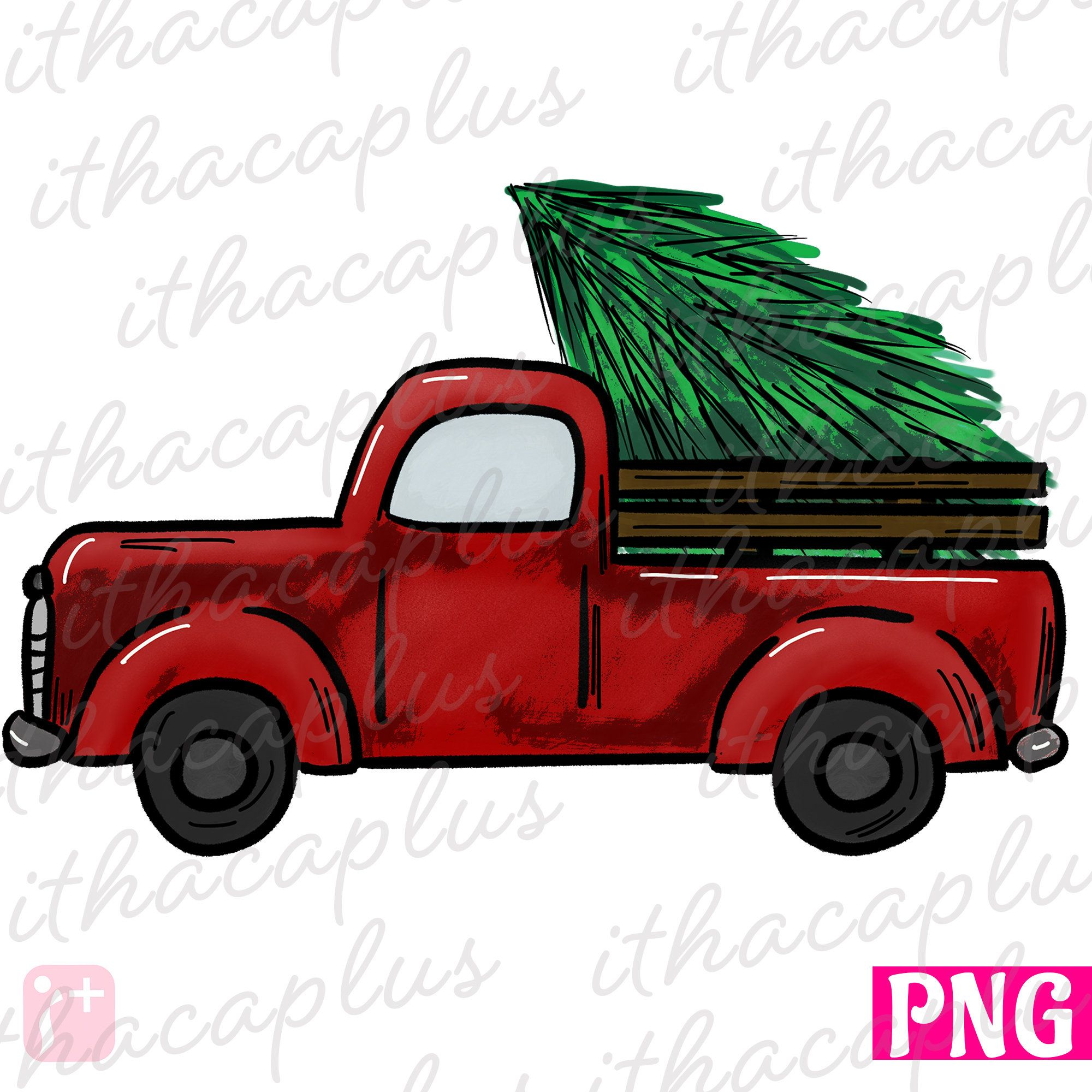 Christmas Red Truck Png Files Sublimation Christmas Truck Printable Christmas Tree Truck Subl Christmas Red Truck Christmas Printables Christmas Tree Truck