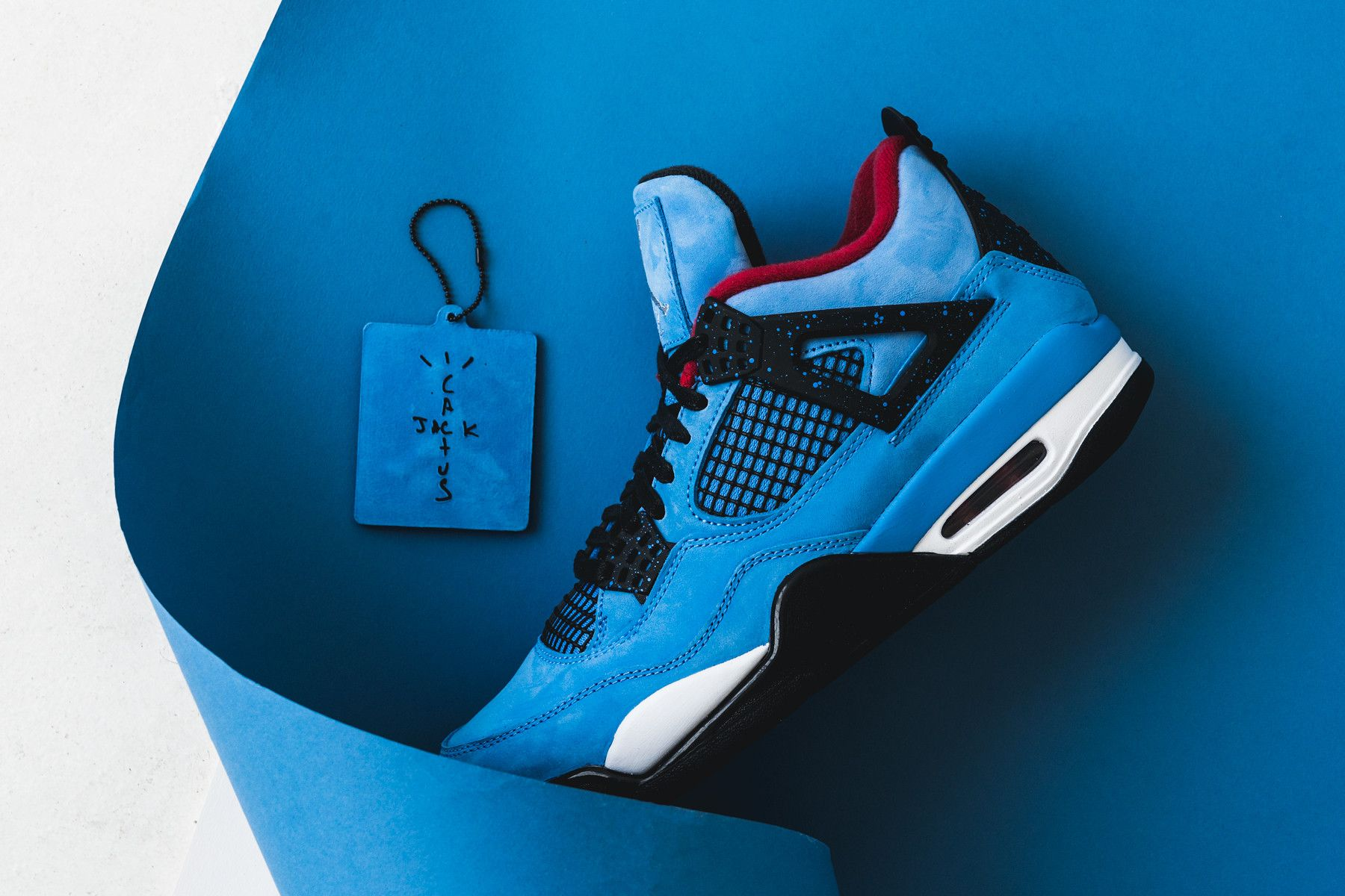 Here S A Closer Look At The Travis Scott X Air Jordan 4 Cactus Jack Air Jordans Jordans Jordan 4