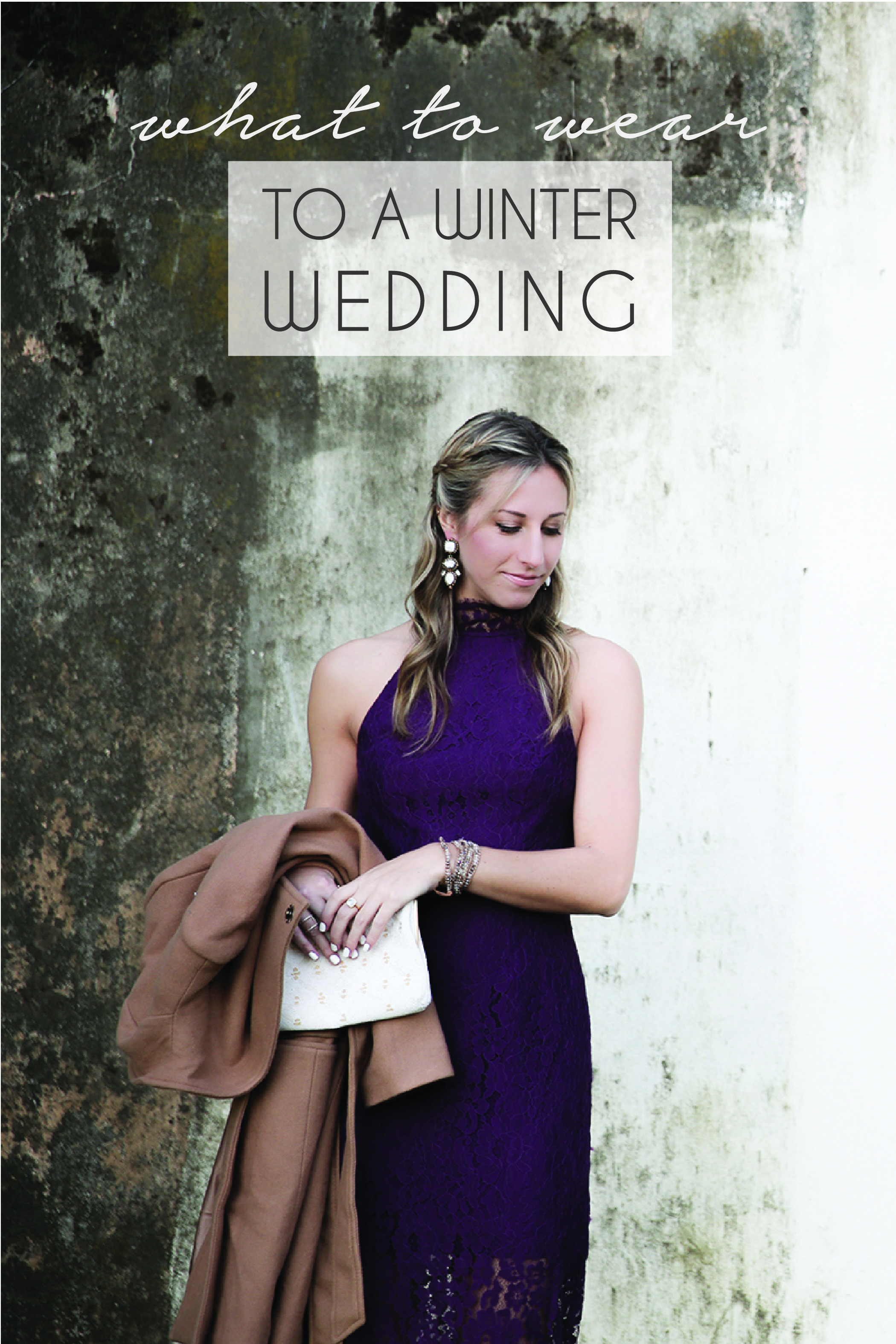 What to Wear to a Winter Wedding Winter wedding guests