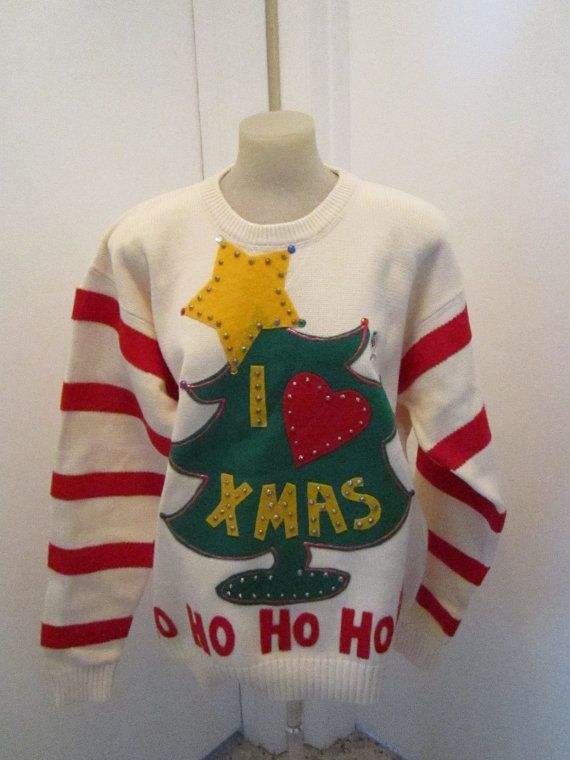 the grinch ugly christmas sweater xlarge ready by motherfrakers - Grinch Ugly Christmas Sweater