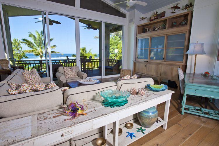 Living Room Banana Beach House