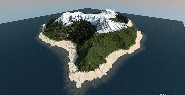 Dry Wind Island Custom Terrain Minecraft Building Inc
