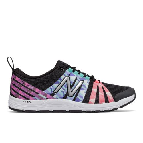 New Balance 811 Print Trainer Women's Recently Reduced Shoes - Black/Pink/Purple  (
