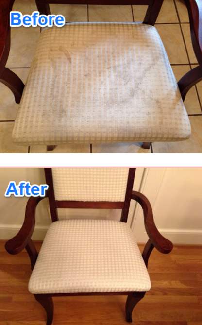Office Chair Using Dish Soap