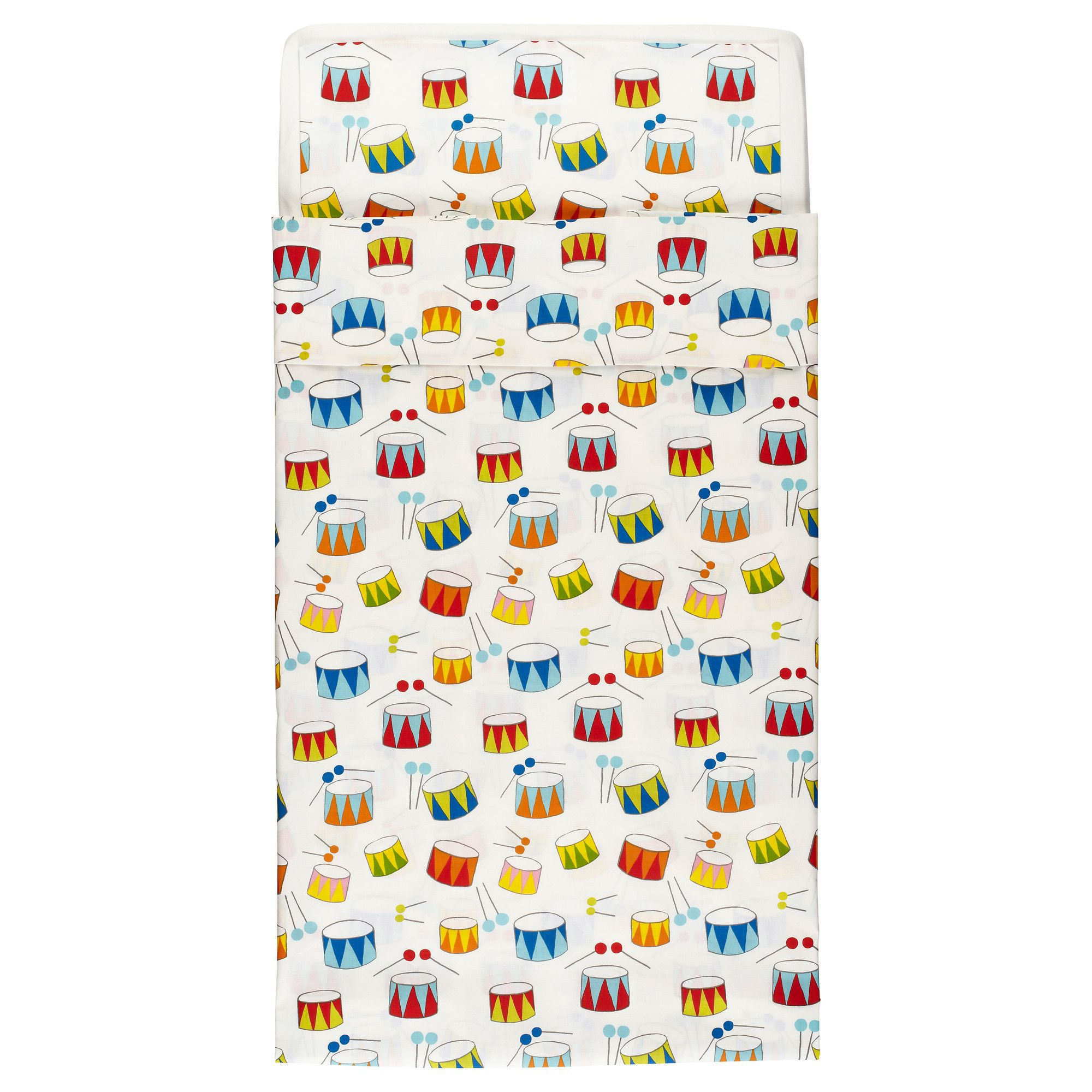Baby Bettwäsche Ikea Vitaminer Trumma Crib Duvet Cover Pillowcase Ikea Baby Love