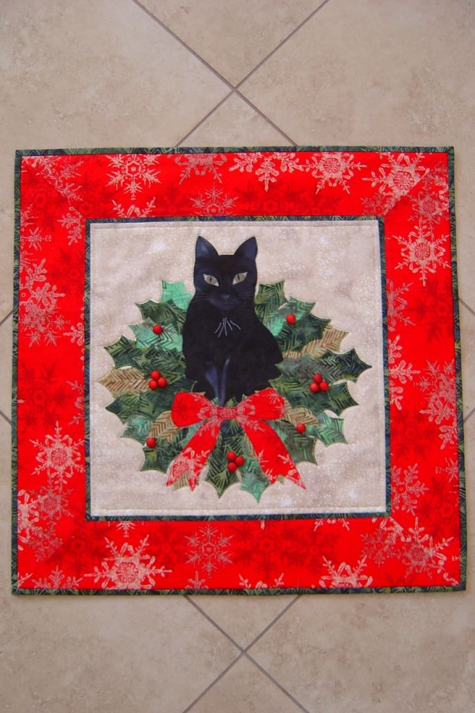 Christmas Trouble From Trouble Boo Designs Wall Hanging Pattern