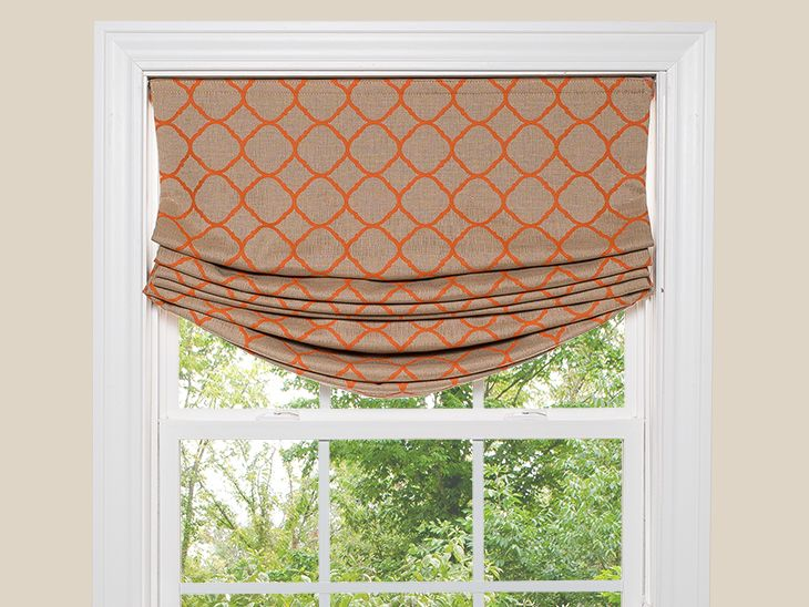 How To Make A Relaxed Roman Shade Relaxed Roman Shade Roman