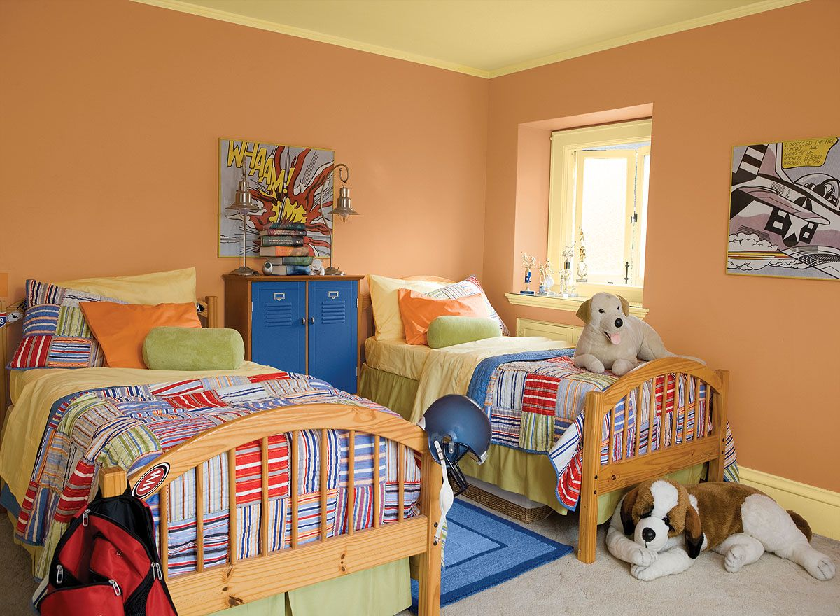 Interior Paint Ideas and Inspiration Kids bedroom paint
