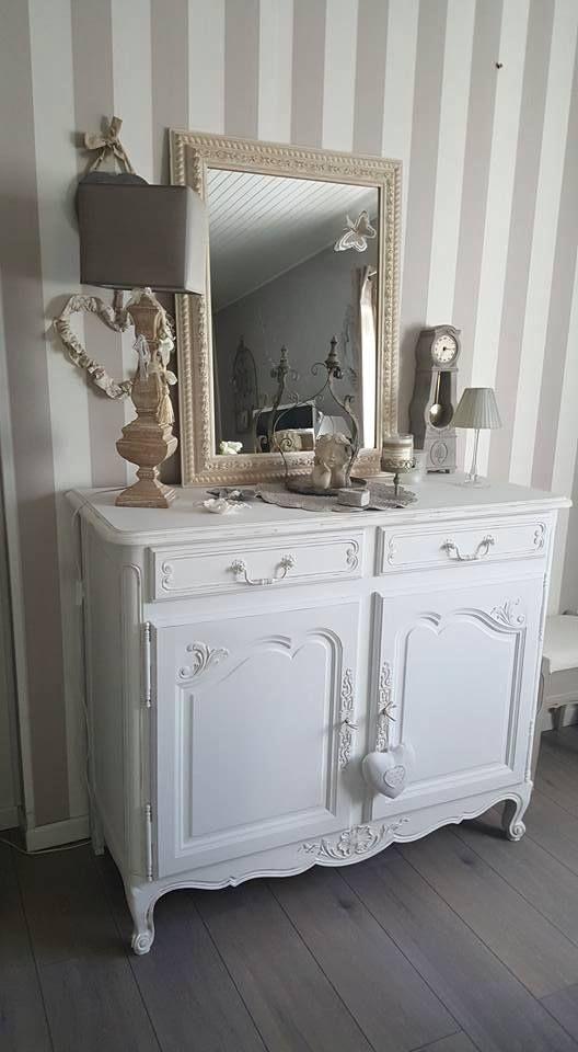 peinture meuble by cama lle r alisation par ambiances cr atives peinture coloris coton. Black Bedroom Furniture Sets. Home Design Ideas