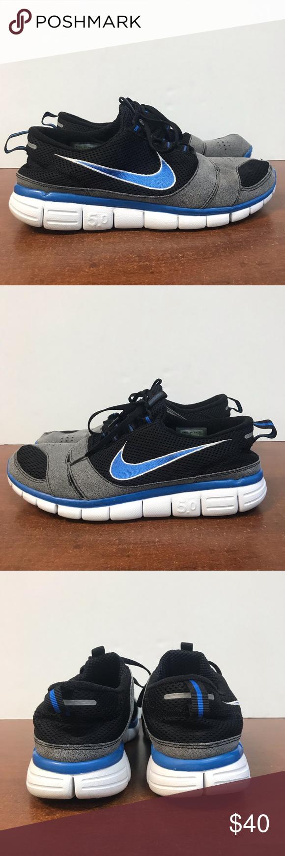 Nike Free Run 5.0 Men's Size 10.5 Preowned Men's Nike Free
