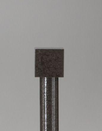Cube End Cap 1 Diameter Le Fer Metal Curtain Rod