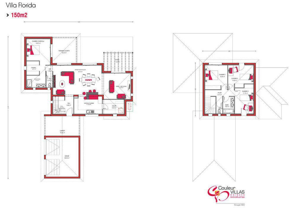 Maison Villa Florida Plans Pinterest Villas