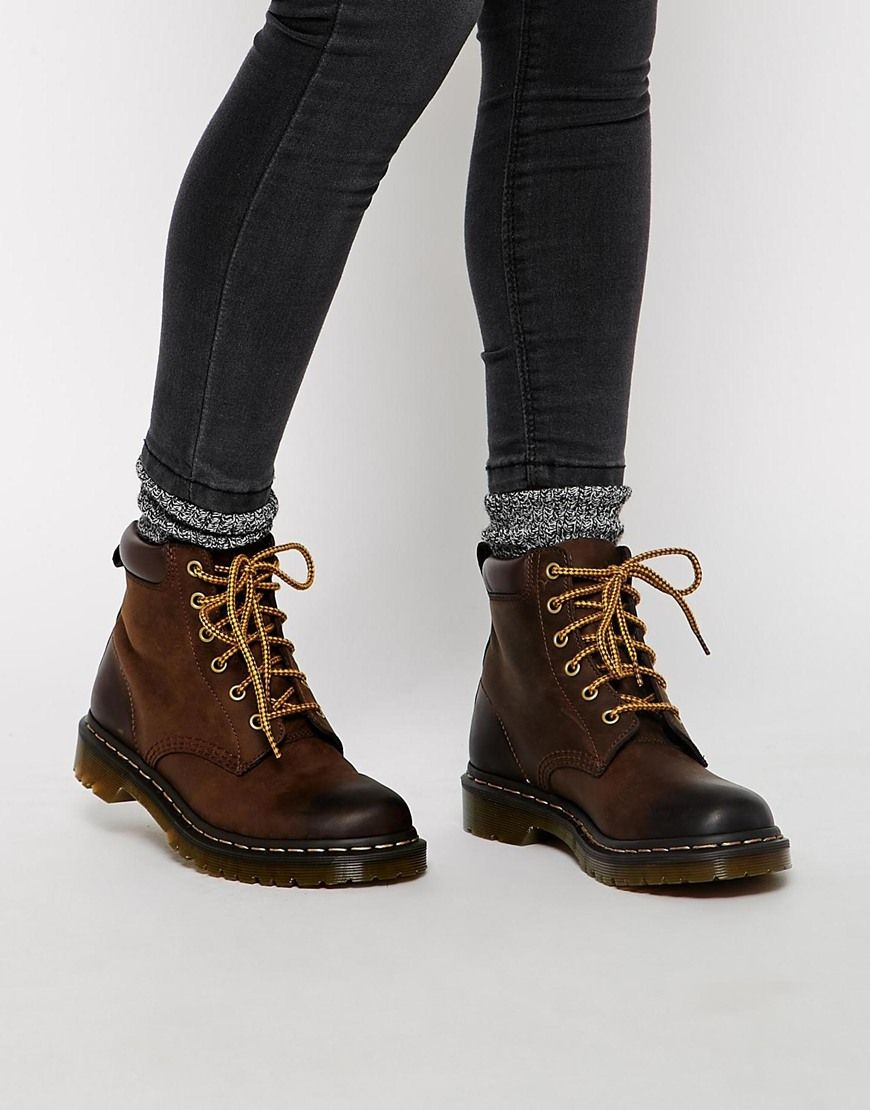 Dr Martens Core 939 Brown Hiking Boots | Fashion, Boots