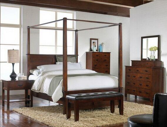 Home  Bedroom furniture  Bedroom Sets  Wood Bed Sets  4