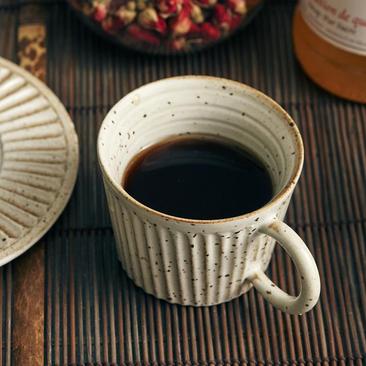 Japanese style handmade ceramic mug