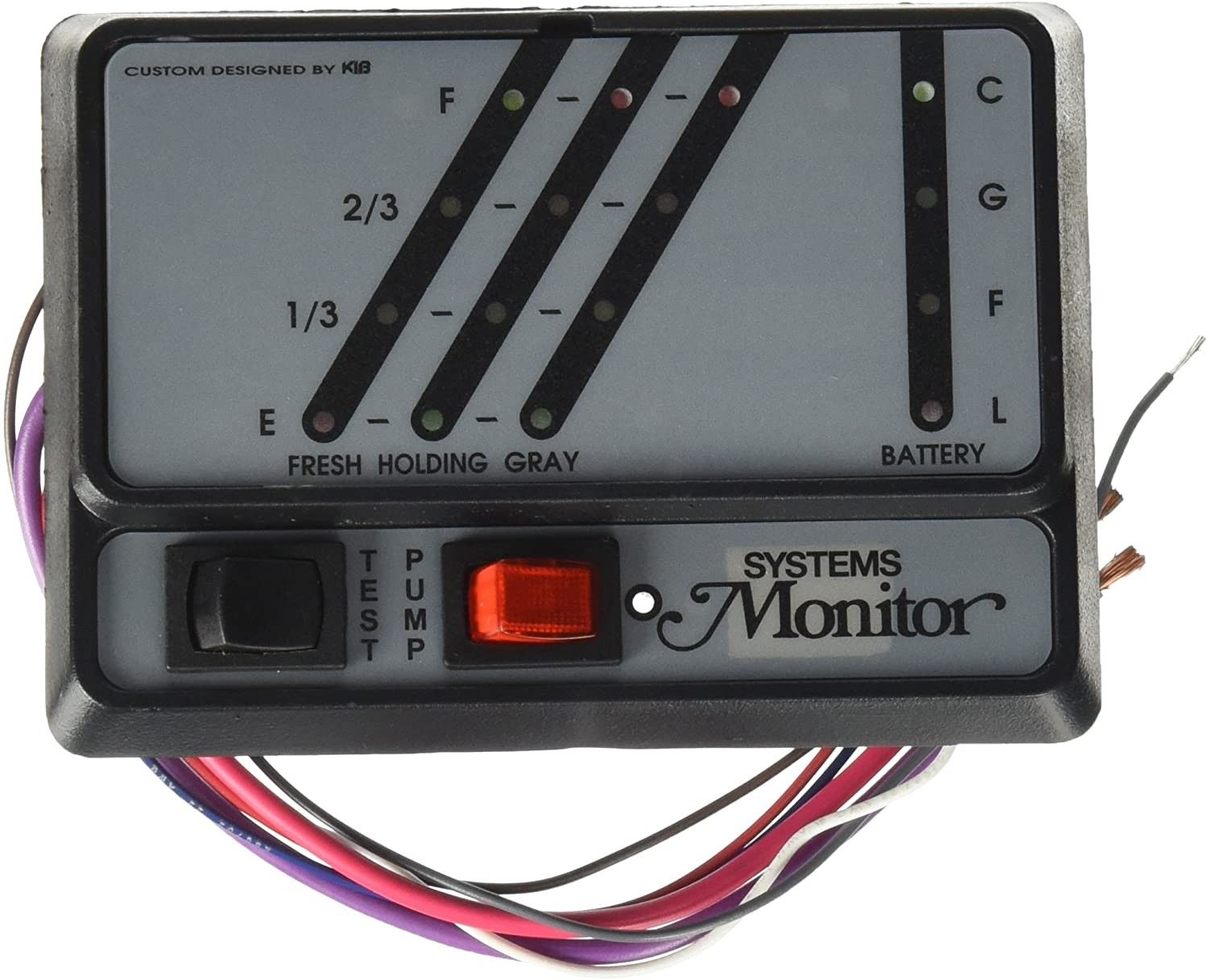 Kib K21 System Monitor Owners Manual In 2020 System Monitor Panel Systems Monitor