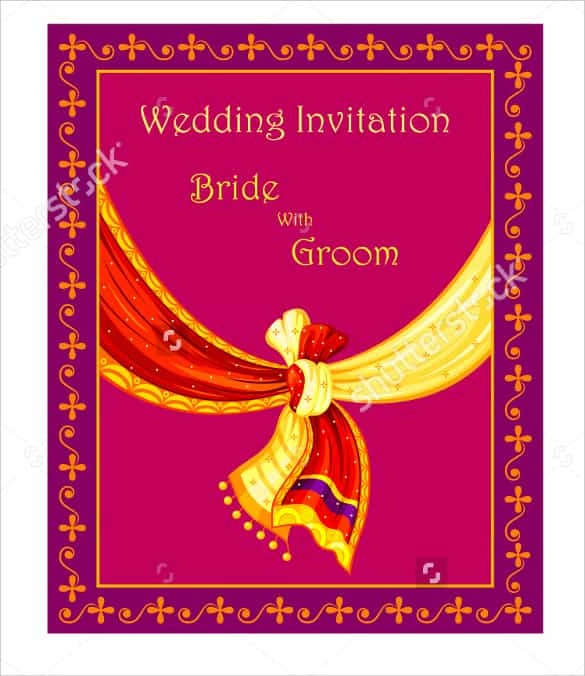 14+ Free Wedding Invitation Templates Excel, Word & PDF