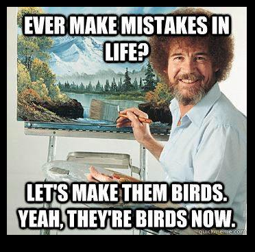 Bob Ross Quotes And Quips Pinterest Funny Inspirational