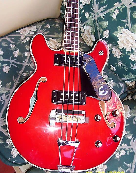 Epiphone Rivoli Cherry 1966 | Reverb